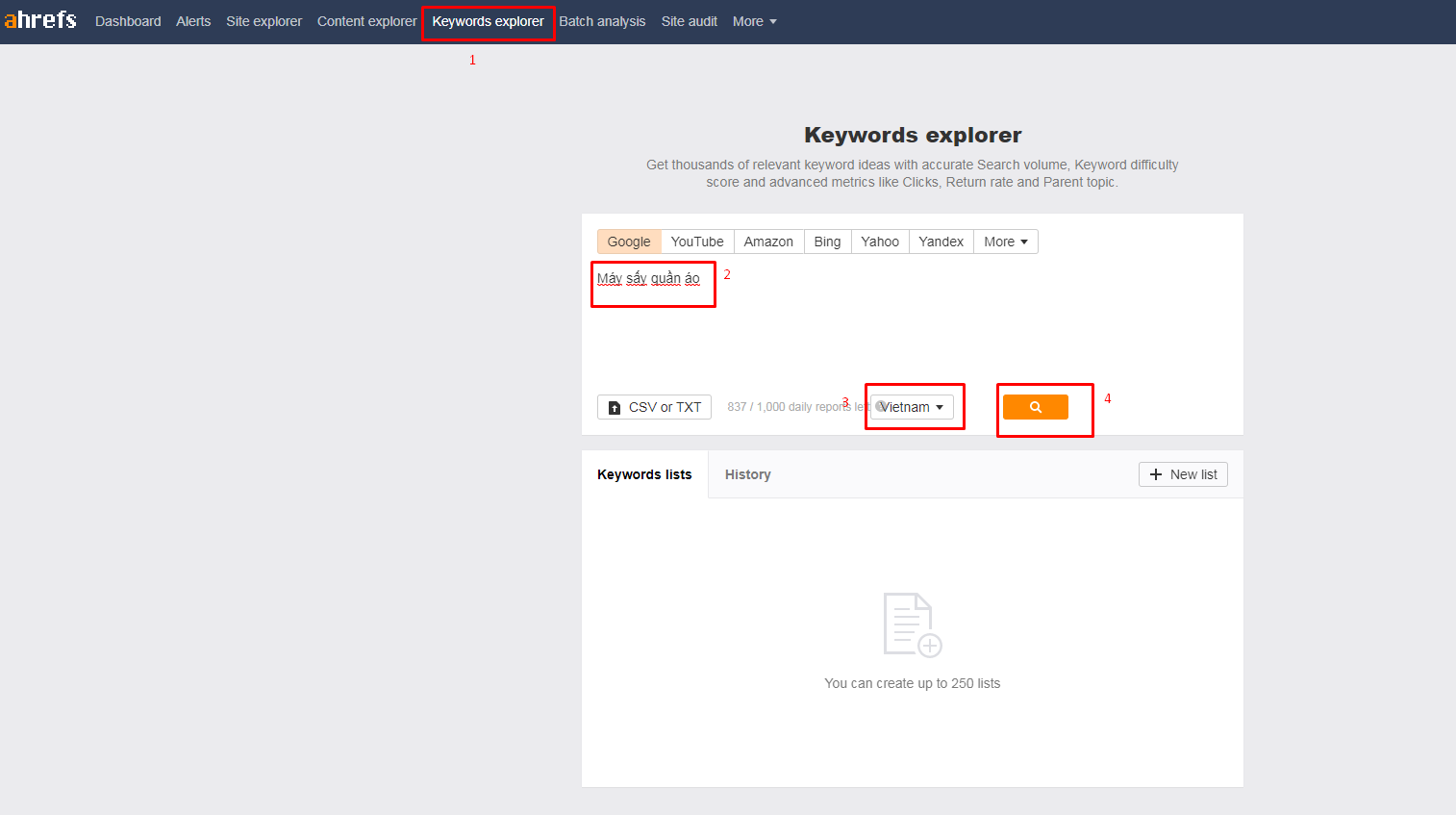 Cách Nghiên cứu từ khóa SEO - Keyword Research sản phẩm, dịch vụ chính