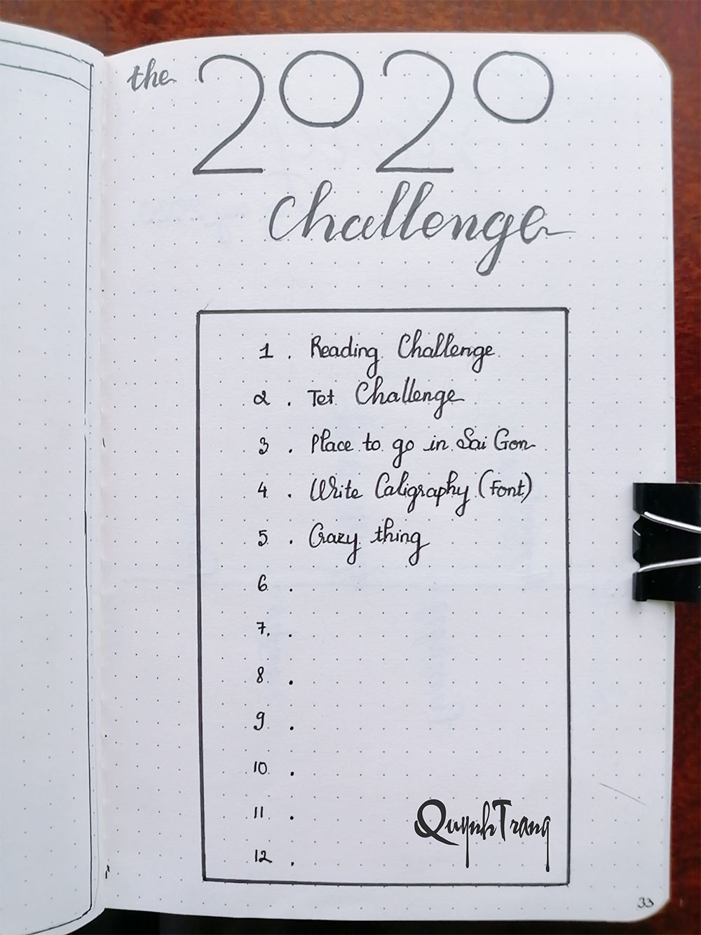 New-year-challenge-Bullet-Journal-2