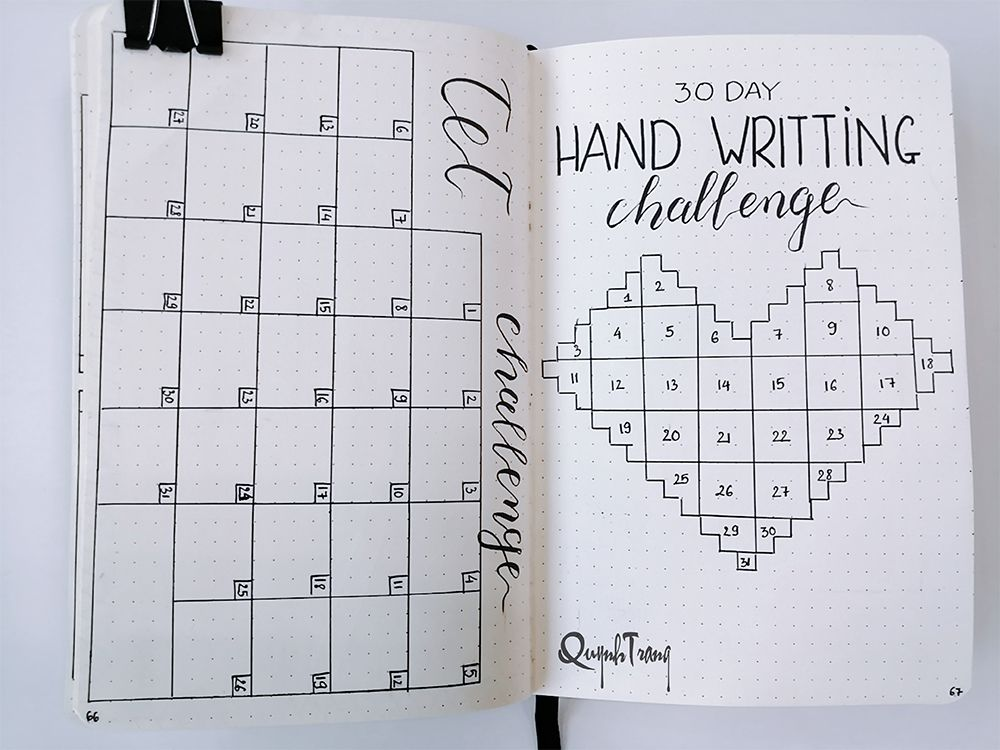 New-year-challenge-Bullet-Journal