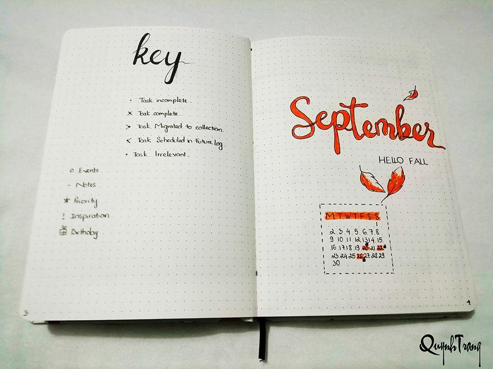 September-Bullet-Journal-Cover-page