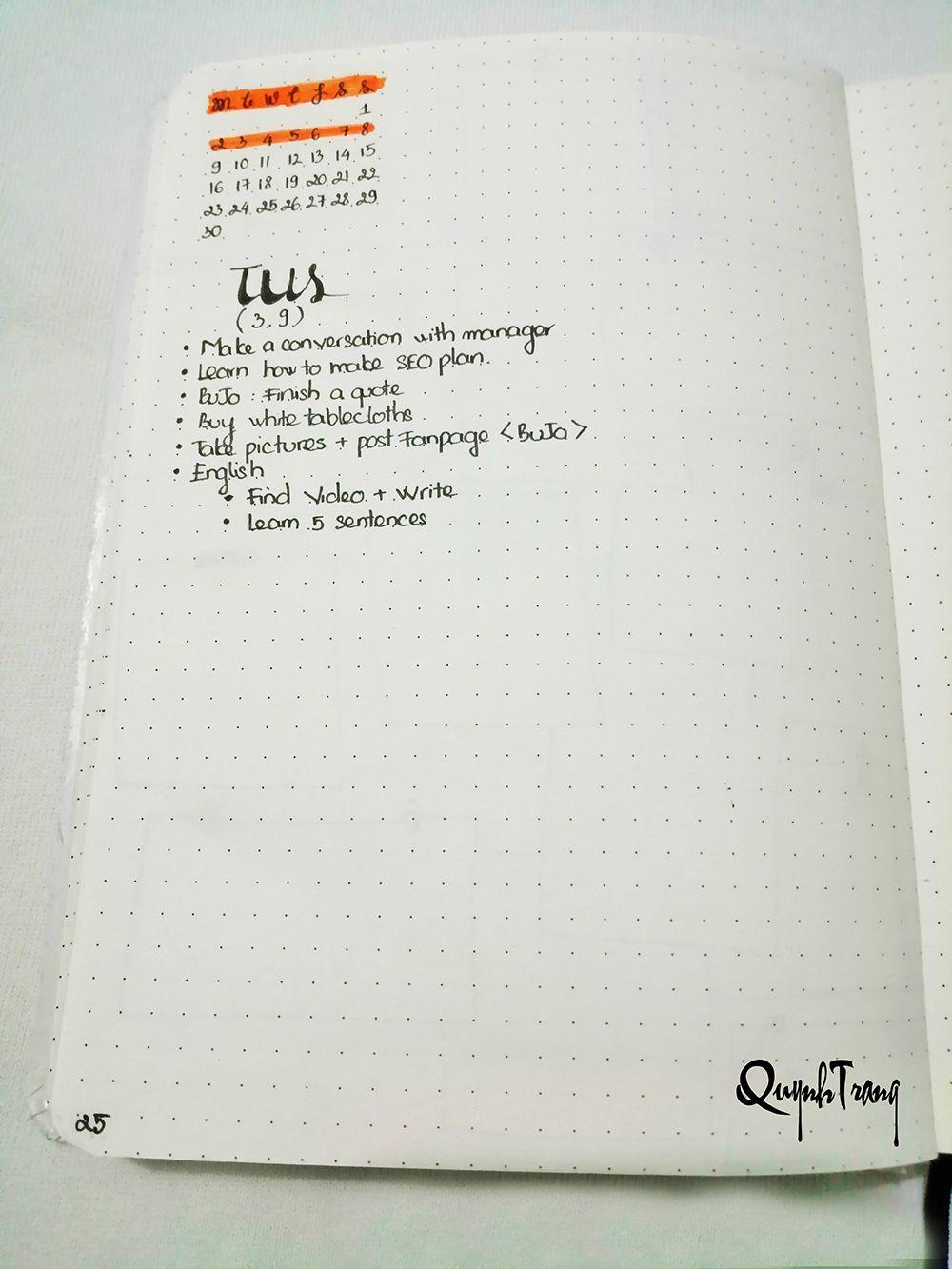 September-Bullet-Journal-Daily-log