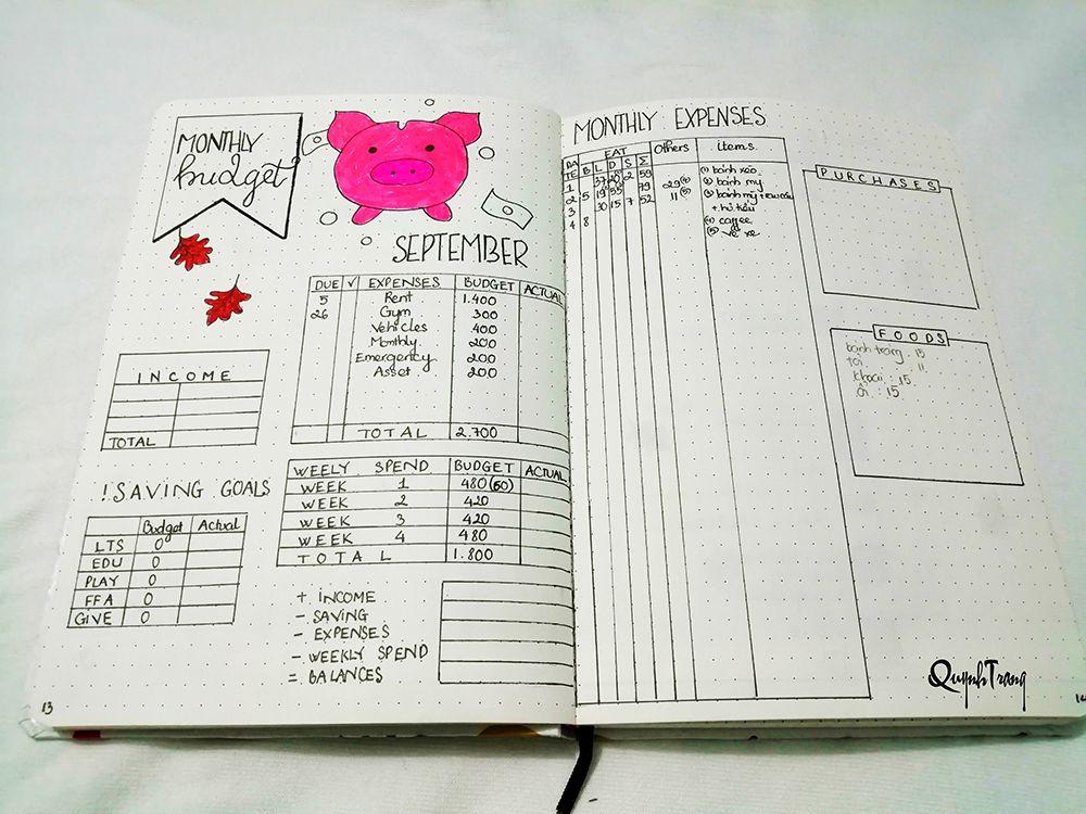 September-Bullet-Journal-Finances-Log