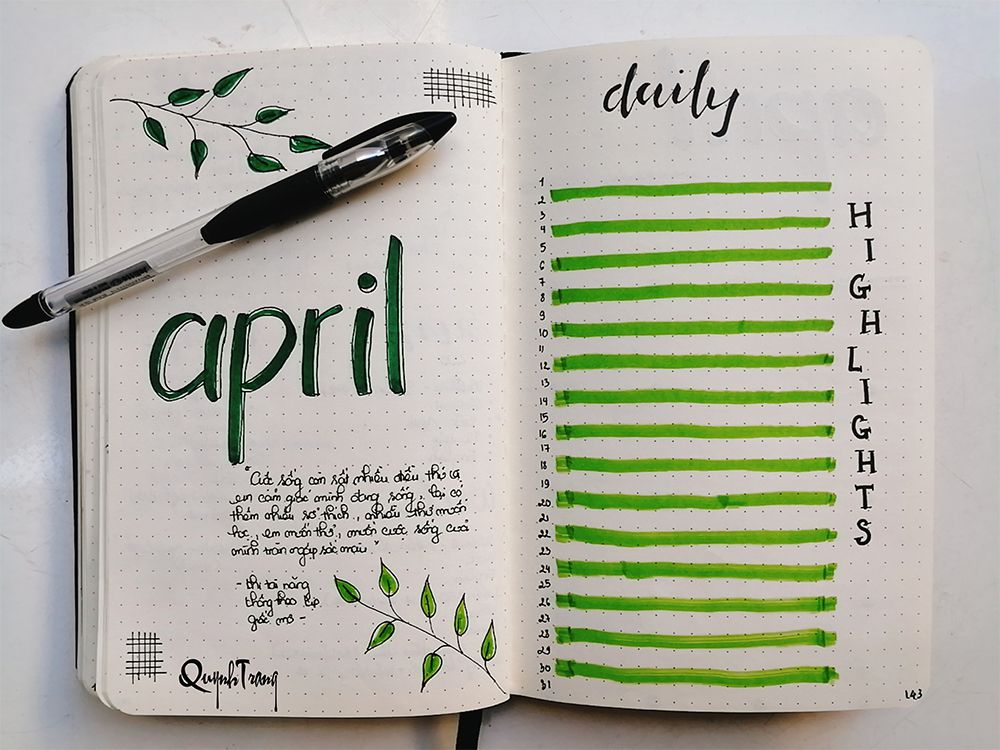 Hello-April-Bullet-Journal