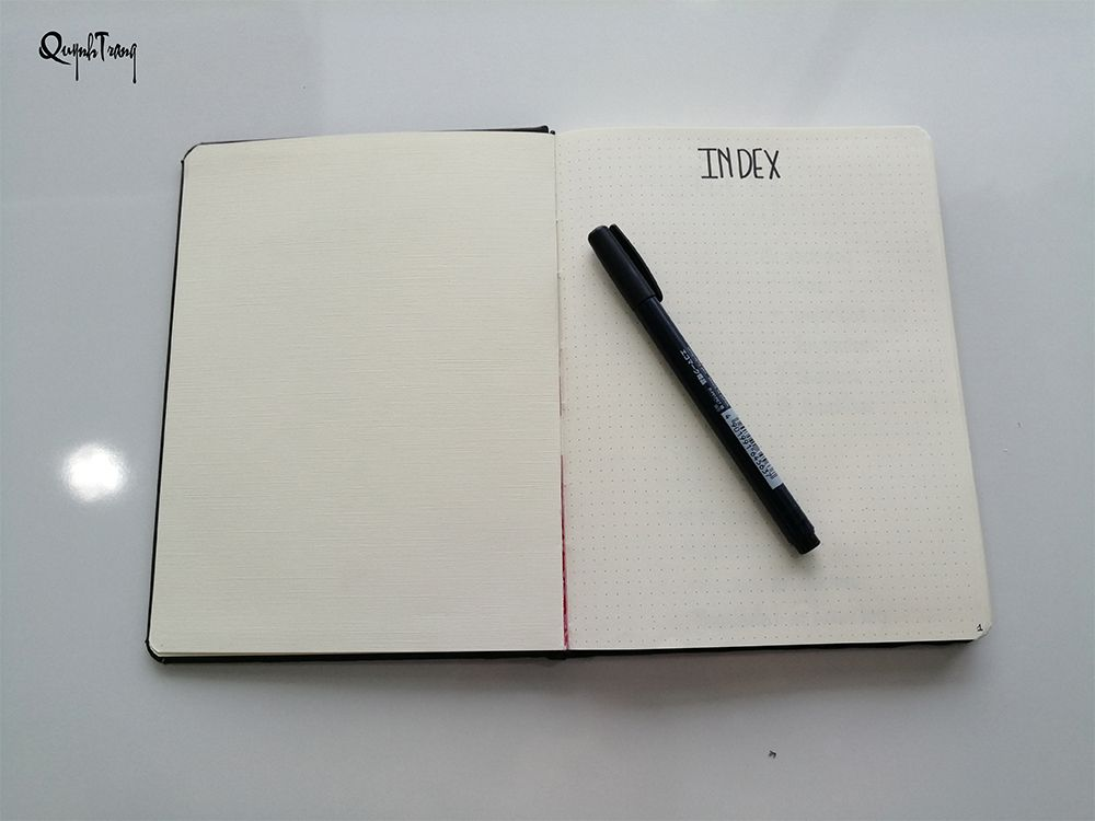 Index-page-bullet-journal