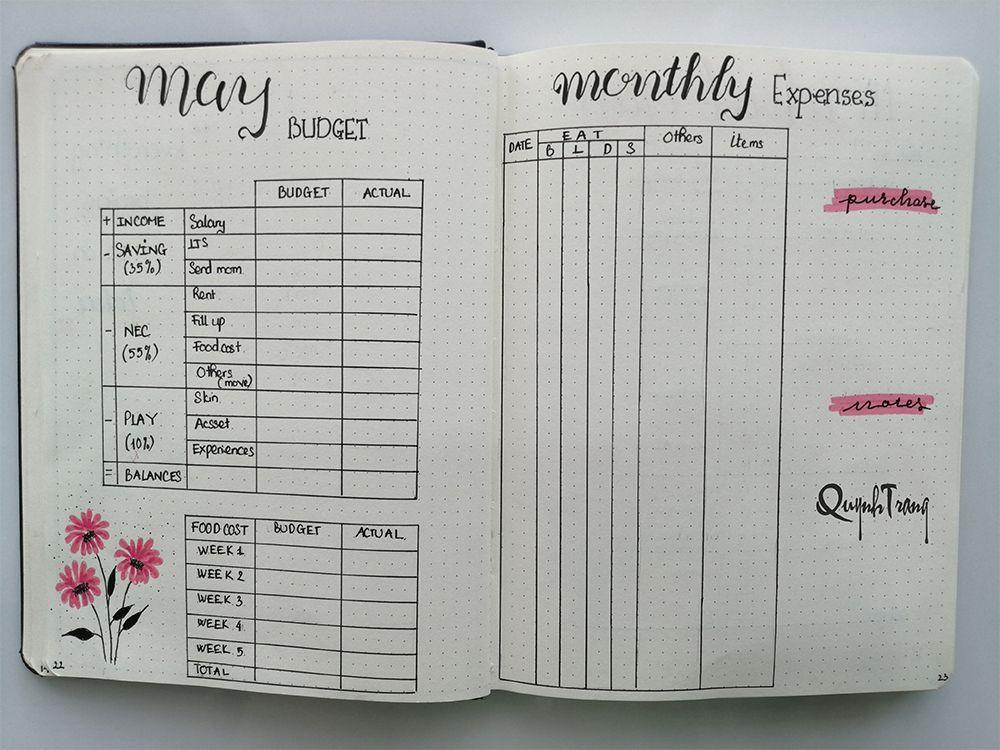 may-bullet-journal-finances-log