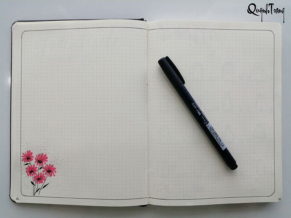 May-bullet-journal-gratitude-log