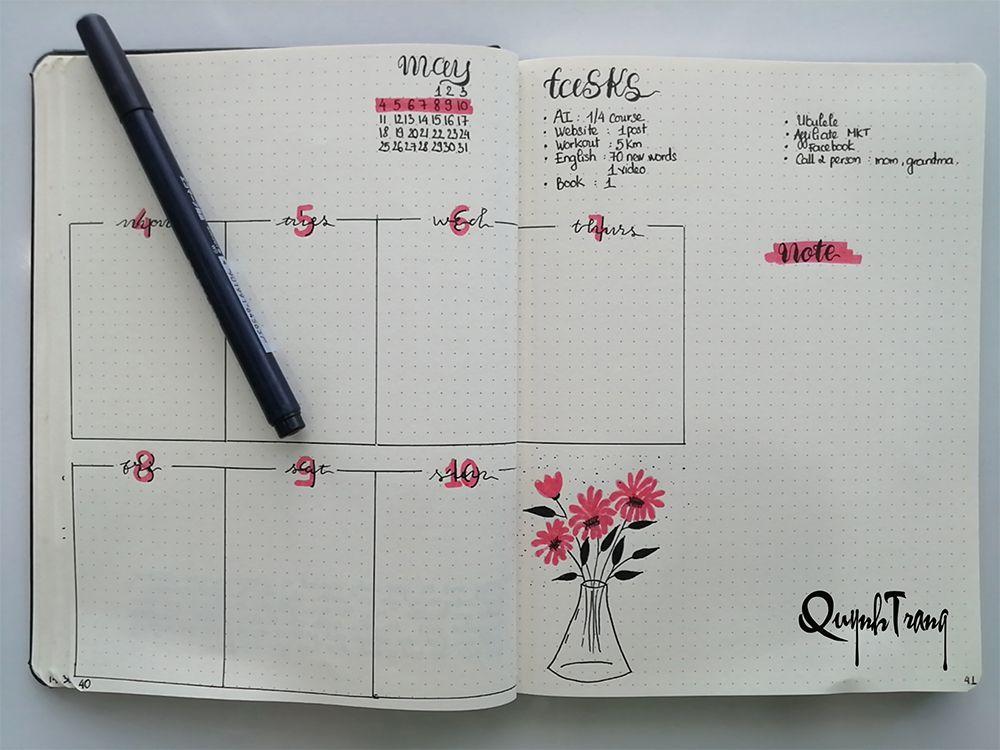may-bullet-journal-weekly-log